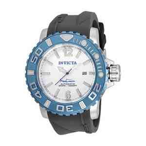 Pánské hodinky INVICTA Sea Hunter Silver Light Blue Black