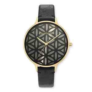 Dámské hodinky ENGELSRUFER Květ života Gold Black