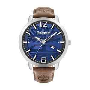 Pánské hodinky TIMBERLAND Clarksville Silver Brown