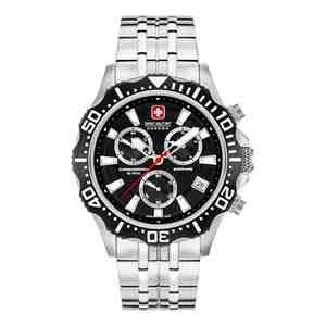 Pánské hodinky SWISS MILITARY HANOWA Patrol Chrono Black