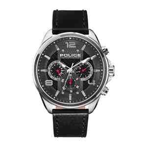 Pánské hodinky POLICE Durdle Silver Black