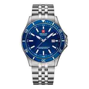 Pánské hodinky SWISS MILITARY HANOWA Flagship Blue