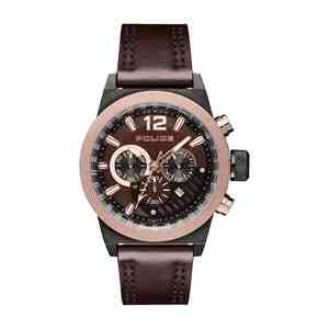 Pánské hodinky POLICE Ladbroke Brown