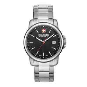 Pánské hodinky SWISS MILITARY HANOWA Swiss Recruit II Black