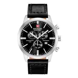 Pánské hodinky SWISS MILITARY HANOWA Chrono Classic Black