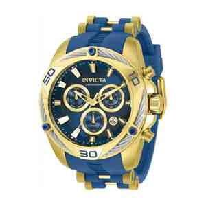 Pánské hodinky INVICTA Bolt Blue Gold