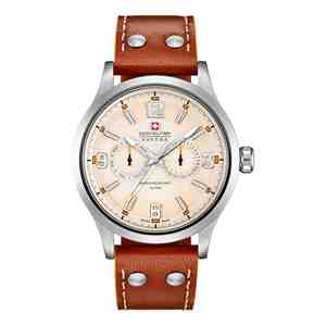 Pánské hodinky SWISS MILITARY HANOWA Undercover Multifunction Brown