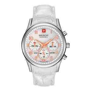 Dámské hodinky SWISS MILITARY HANOWA Navalus Multifunction White