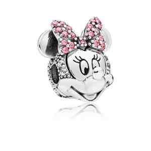 Klip PANDORA Disney Třpytivý portrét Minnie