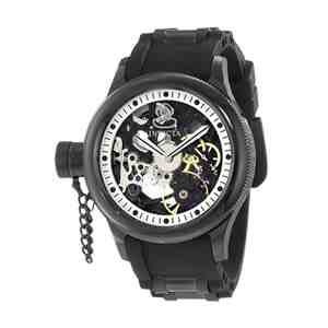Pánské hodinky INVICTA Russian Diver Black Silver Gold