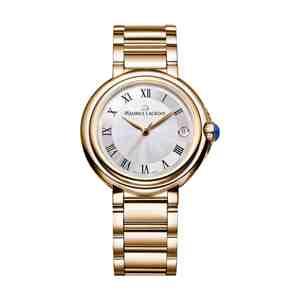 Dámské hodinky MAURICE LACROIX Fiaba Round Gold Blue