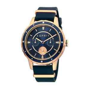 Dámské hodinky ESPRIT Brisk Rubber Blue Rose Gold