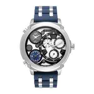Pánské hodinky POLICE Sagano Silver Blue