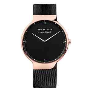 Pánské hodinky BERING Max René Rose Gold Black