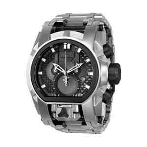 Pánské hodinky INVICTA Reserve Bolt Zeus Magnum Silver Black