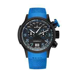 Pánské hodinky EDOX Chronorally Blac Blue
