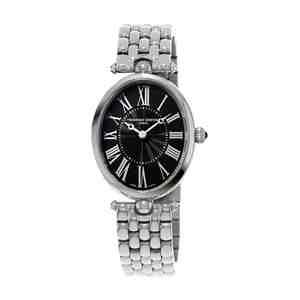 Dámské hodinky FREDERIQUE CONSTANT Art Deco Silver Black