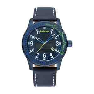 Pánské hodinky TIMBERLAND Clarksburg Blue Leather Strap