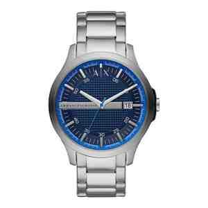 Pánské hodinky ARMANI EXCHANGE Hampton Silver Blue