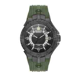 Pánské hodinky SWISS MILITARY HANOWA Seaman Green