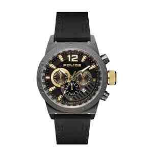Pánské hodinky POLICE Ladbroke Black Gold