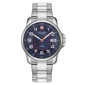 Pánské hodinky SWISS MILITARY HANOWA Swiss Grenadier Silver Blue