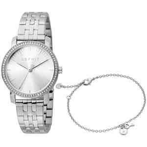 Dámské hodinky ESPRIT Elaine Love Silver + náramek Set