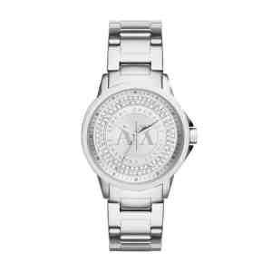 Dámské hodinky ARMANI EXCHANGE Banks Silver