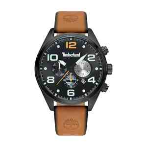 Pánské hodinky TIMBERLAND Whitman Brown Leather Strap