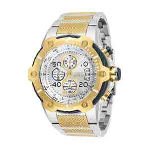 Pánské hodinky INVICTA Bolt Silver Gold Blue