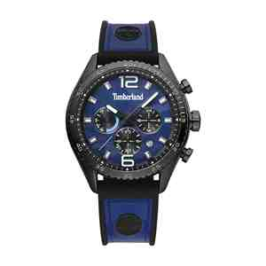 Pánské hodinky TIMBERLAND Stonington Blue Leather Strap