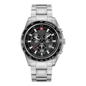 Pánské hodinky SWISS MILITARY HANOWA Crusader Silver Black
