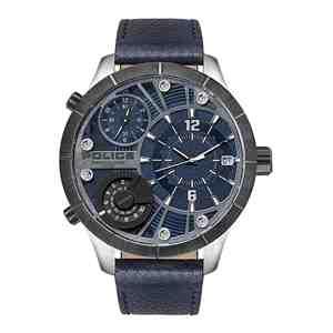 Pánské hodinky POLICE Bushmaster Dark Blue