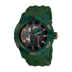 Pánské hodinky INVICTA Star Wars Boba Fett Green