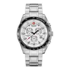 Pánské hodinky SWISS MILITARY HANOWA Crusader Silver White