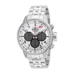 Pánské hodinky INVICTA S1 Rally Silver White
