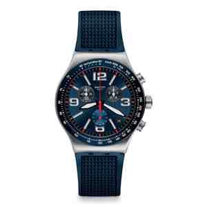 Pánské hodinky SWATCH Blue Grid YVS454