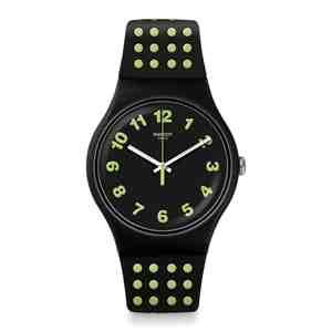 Unisex hodinky SWATCH Punti Gialli SUOB147