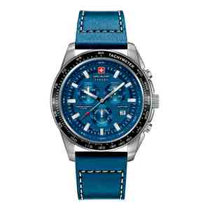 Pánské hodinky SWISS MILITARY HANOWA Crusader Blue