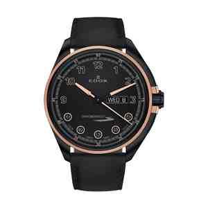 Pánské hodinky EDOX Chronorally-S Black Rose Gold