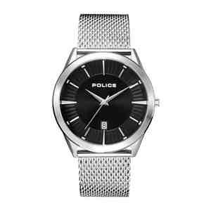 Pánské hodinky POLICE Patriot Silver
