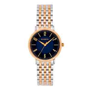 Dámské hodinky SUNDIAL Seven Link Bracelet Silver Gold