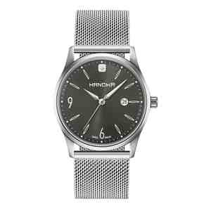 Pánské hodinky HANOWA Carlo Classic Grey