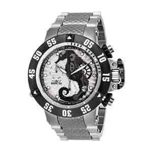 Pánské hodinky INVICTA Subaqua Seahorse Silver