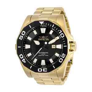 Pánské hodinky INVICTA Pro Diver Gold Black