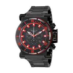 Pánské hodinky INVICTA Coalition Forces Chronograph Silver Black