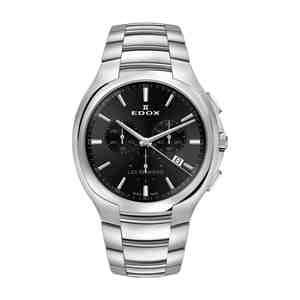 Pánské hodinky EDOX Les Bémonts Black Silver