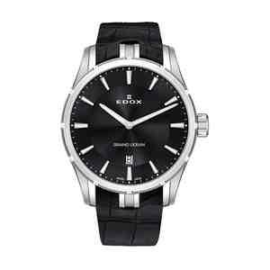 Pánské hodinky EDOX Grand Ocean Silver Black