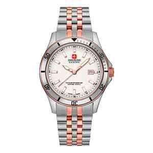 Dámské hodinky SWISS MILITARY HANOWA Flagship Silver Rose Gold