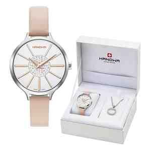Dámské hodinky HANOWA Jubilee Set s náhrdelníkem